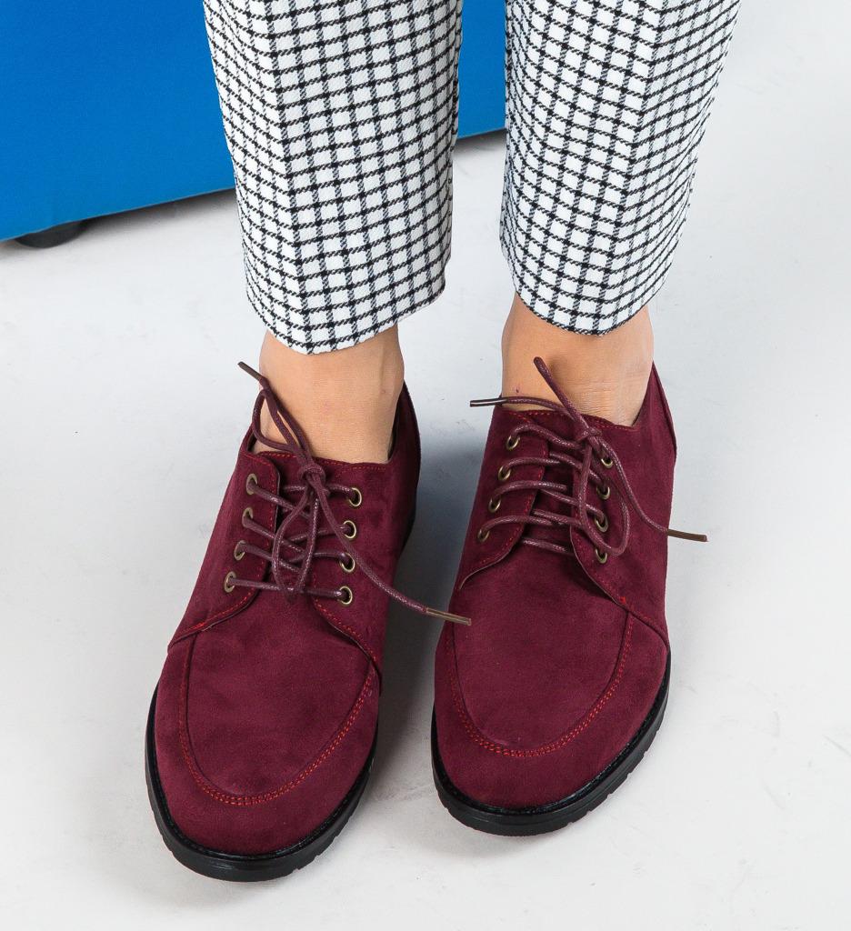 Pantofi Casual Leal Grena