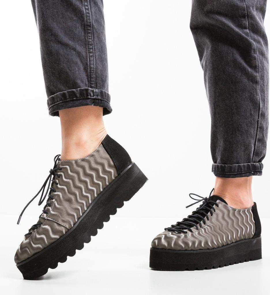Pantofi Casual Missya Gri