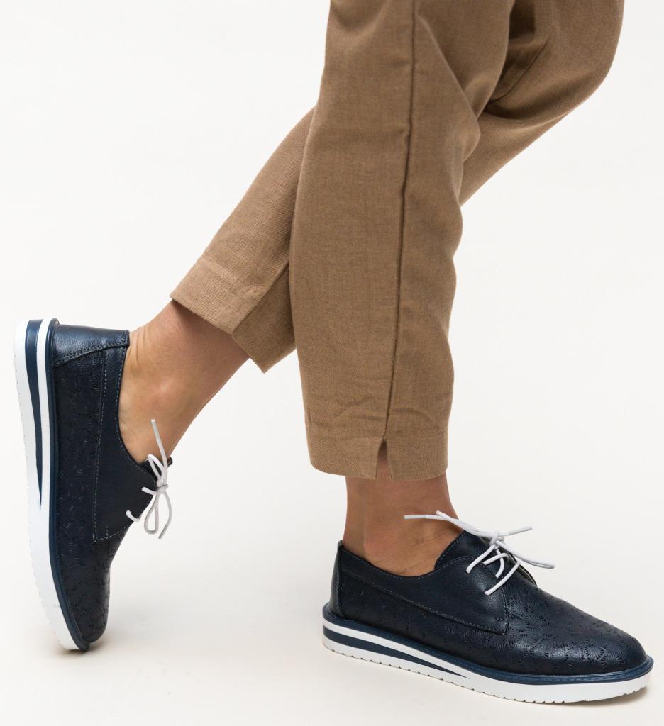 Pantofi Casual Monclen Bleumarin