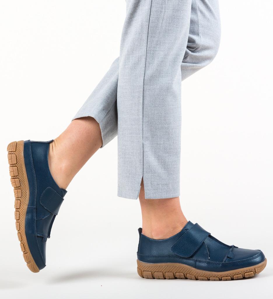 Pantofi Casual Myers Bleumarin