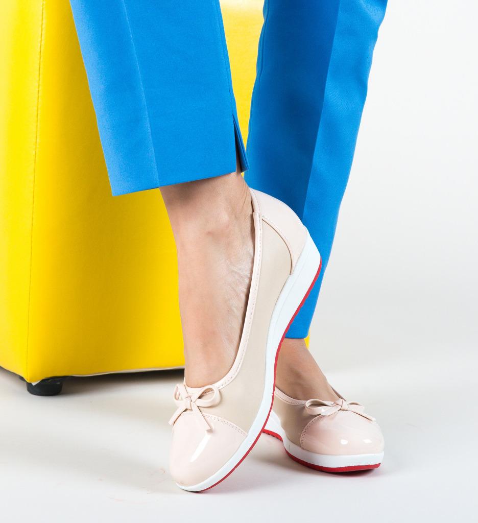 Pantofi Casual Piano Bej
