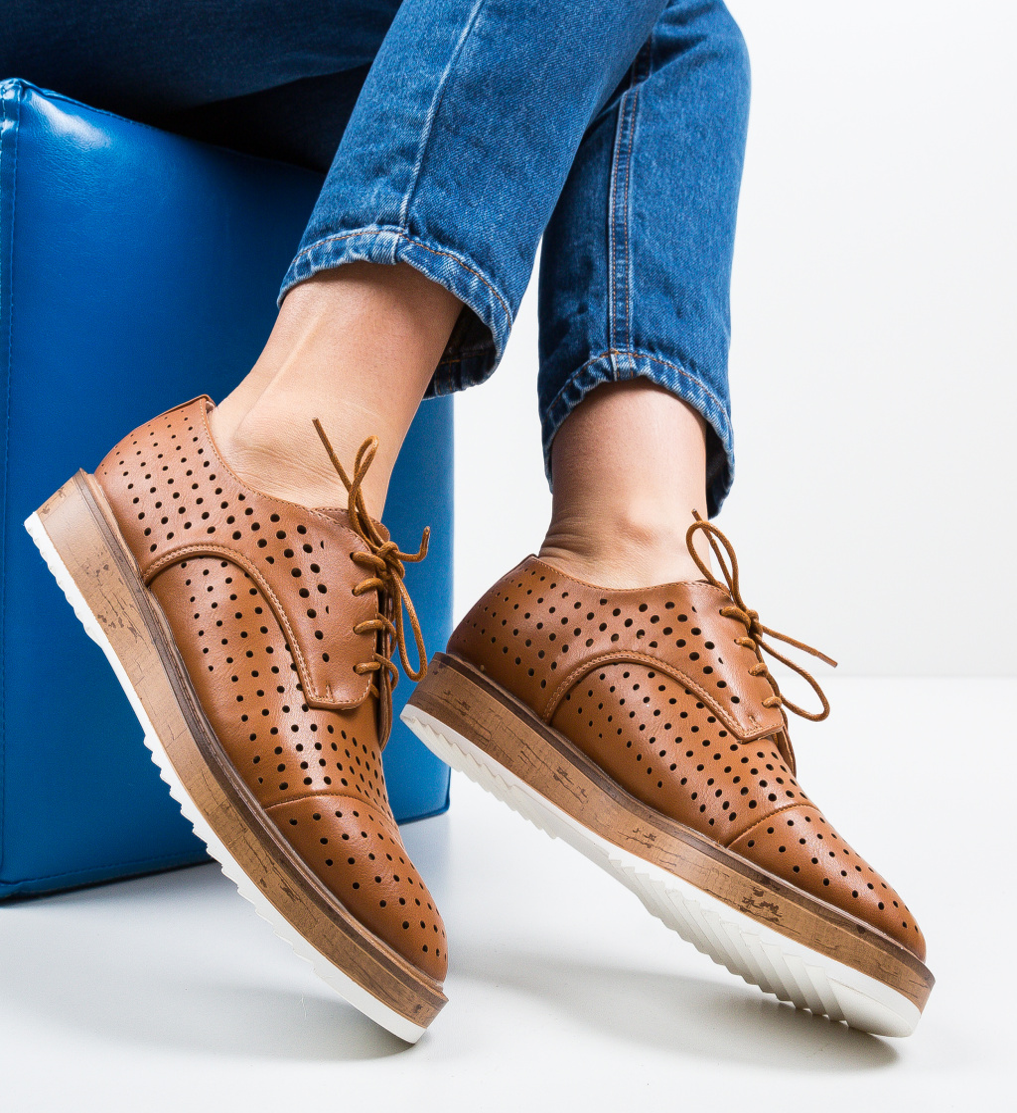 Pantofi Casual Ropag Maro