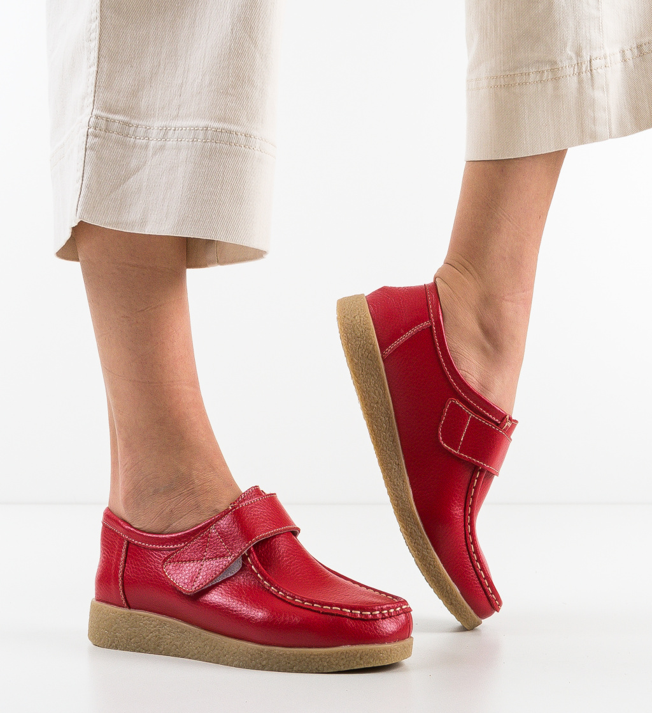 Pantofi Casual Seninena Rosii
