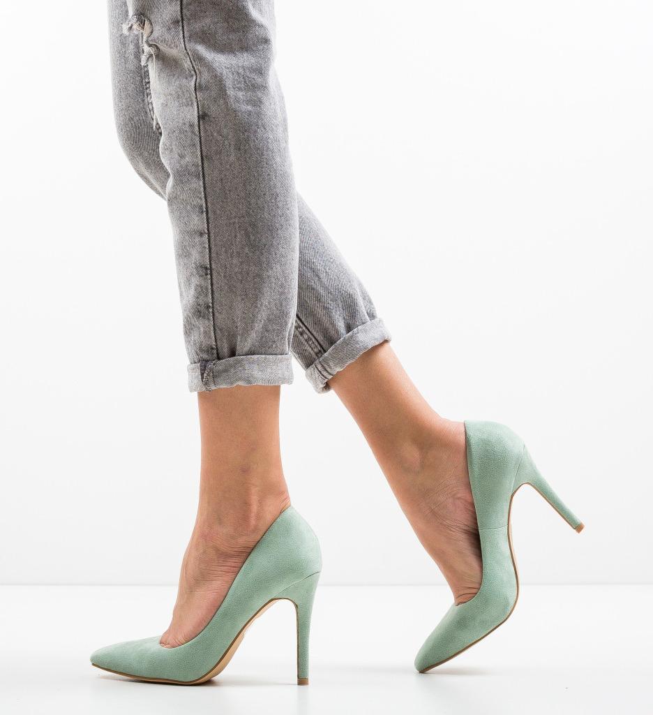 Pantofi Cerys Turcoaz