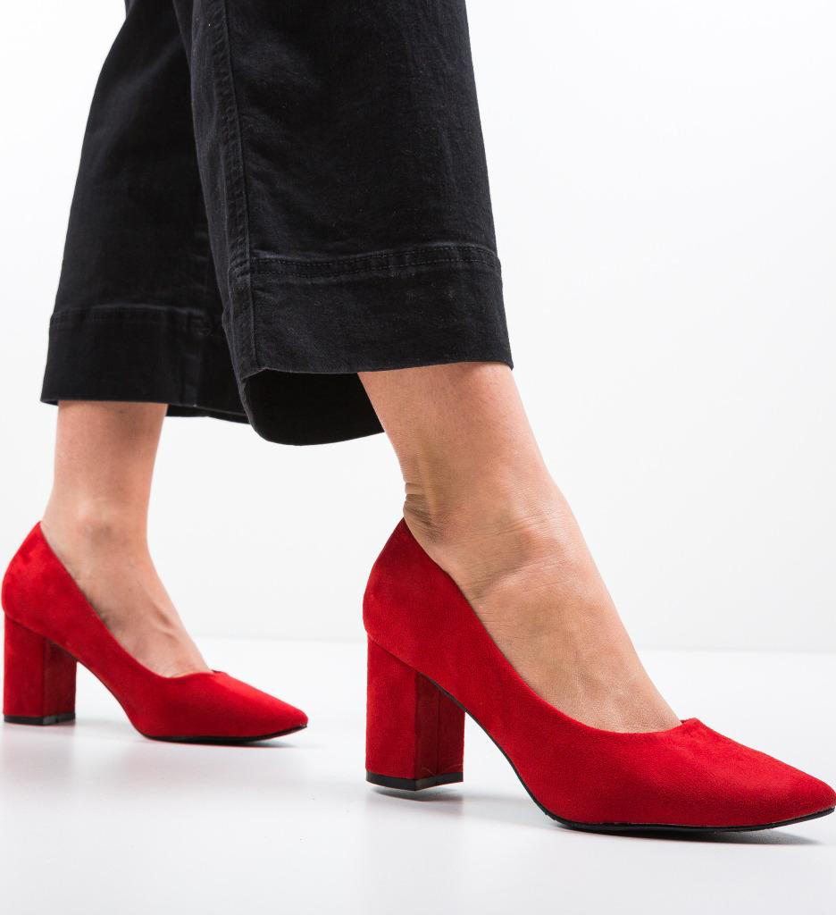 Pantofi Cilio Rosii