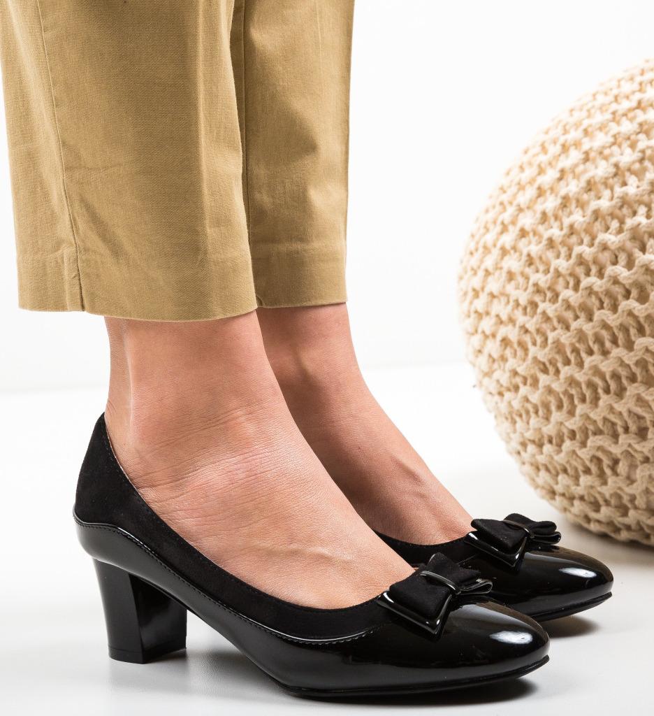 Pantofi Edenoka Negri
