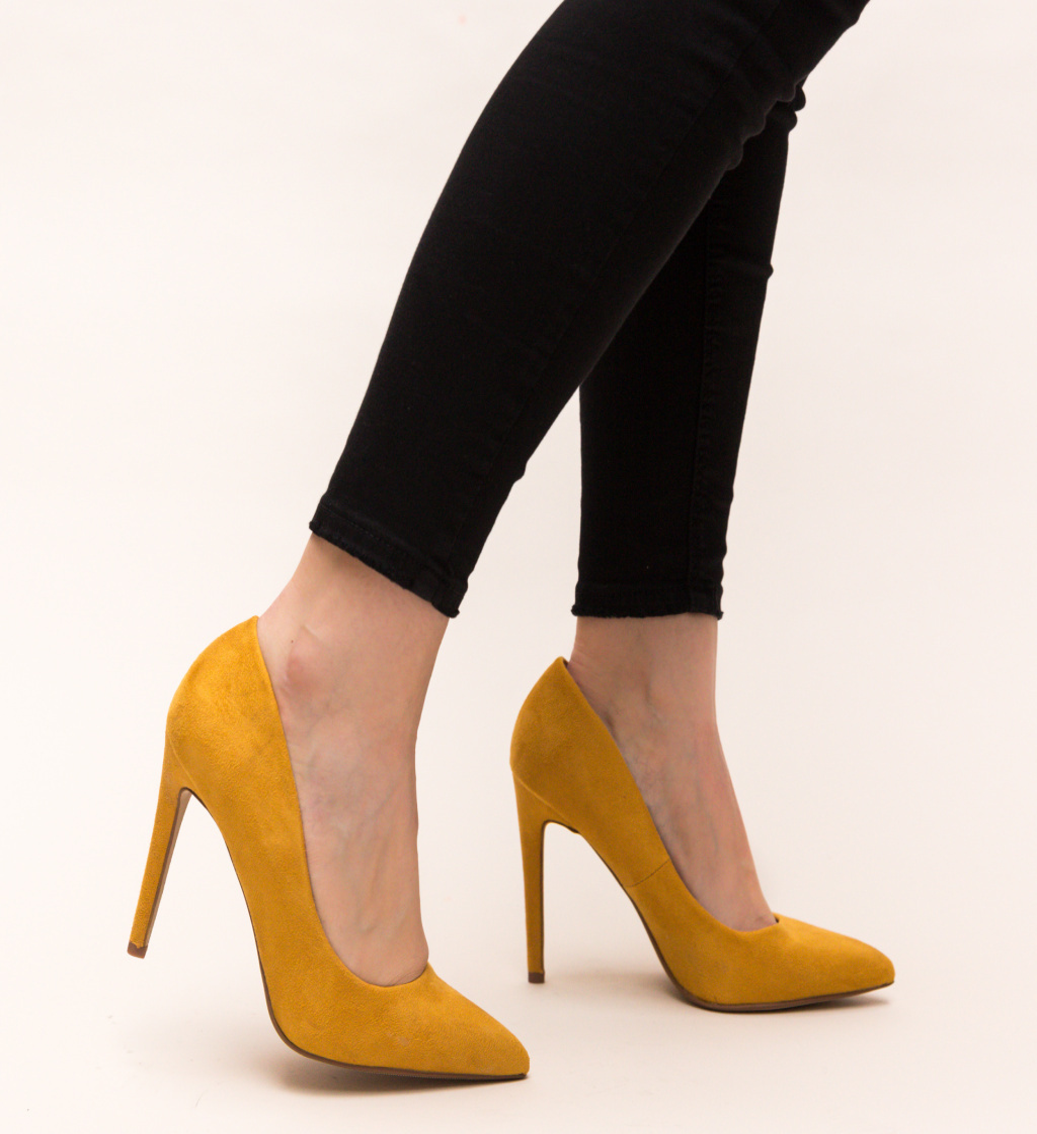 Pantofi Esme Galbeni