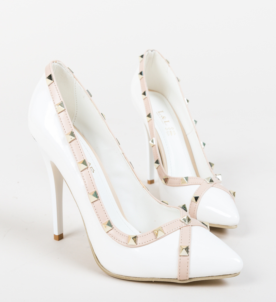 Pantofi Evankel Albe