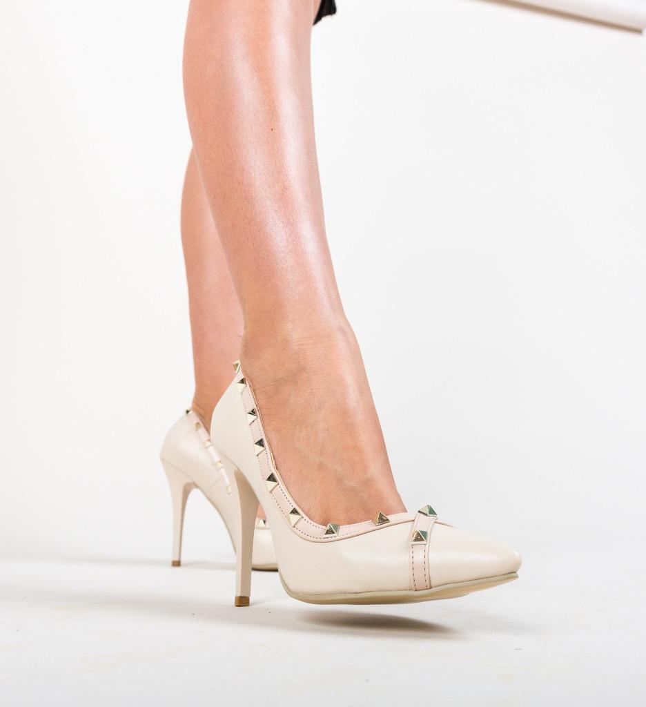 Pantofi Evankel Bej