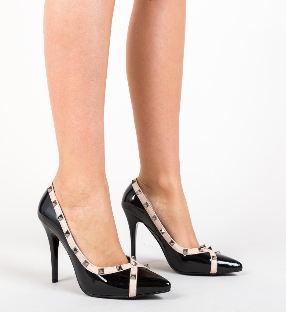 Pantofi Evankel Negre