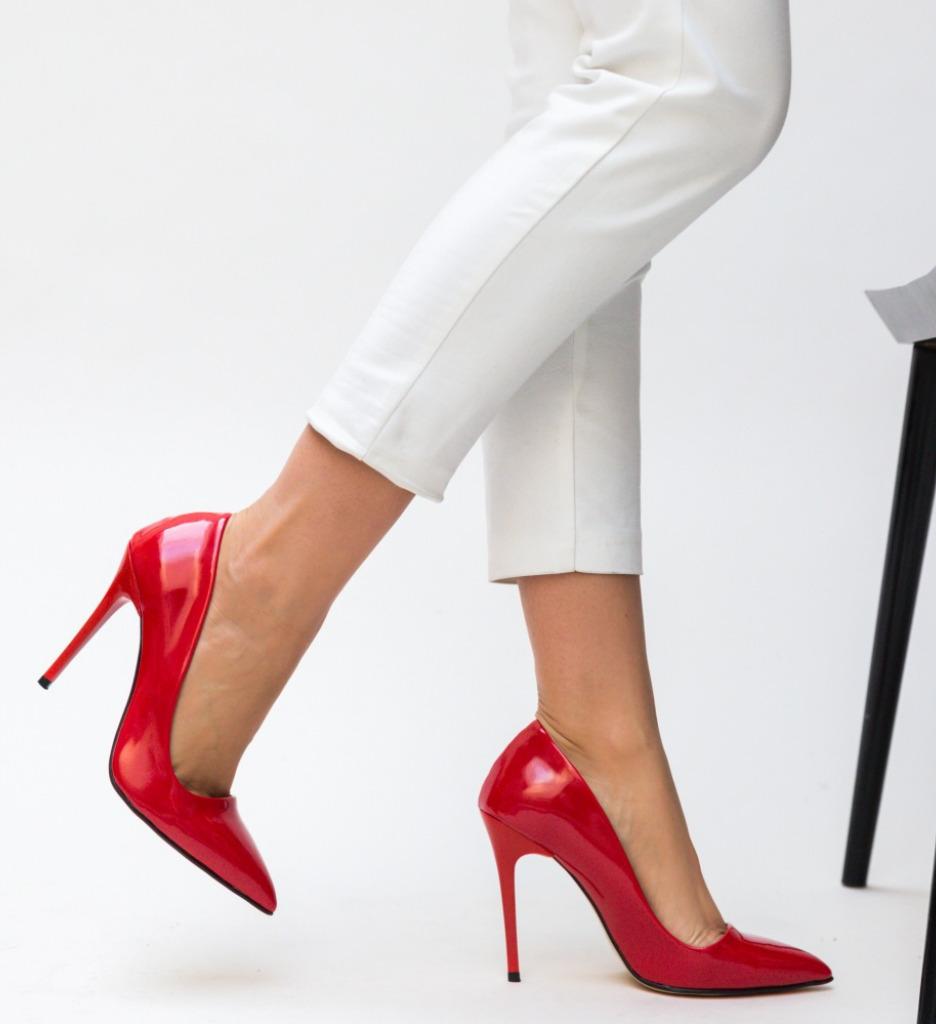 Pantofi Falor Rosii