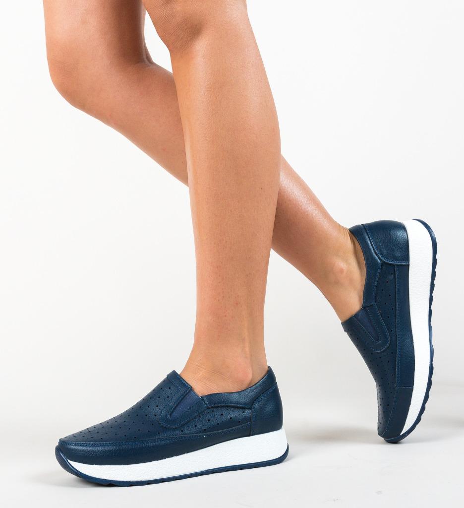 Pantofi Ferne Bleumarin imagine