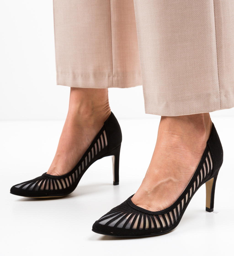 Pantofi Genmeli Negri