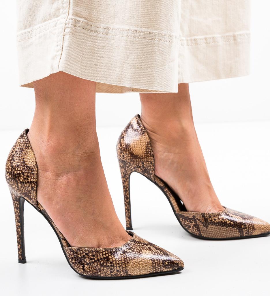 Pantofi Jake Bej