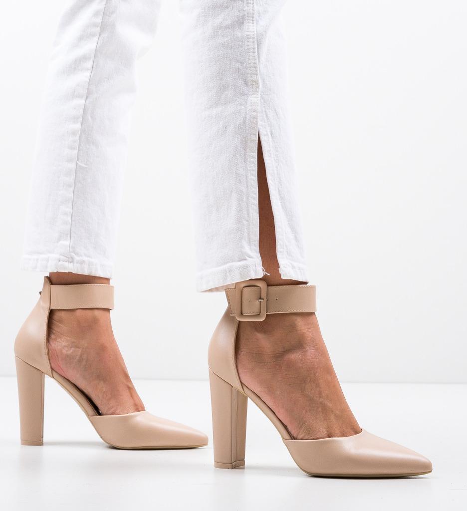 Pantofi Nathan Nude