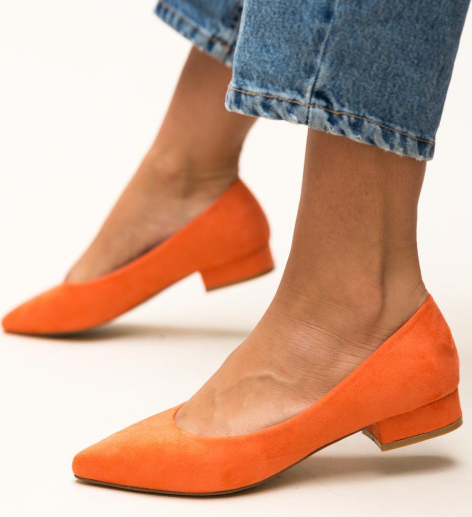 Pantofi Niam Portocalii imagine