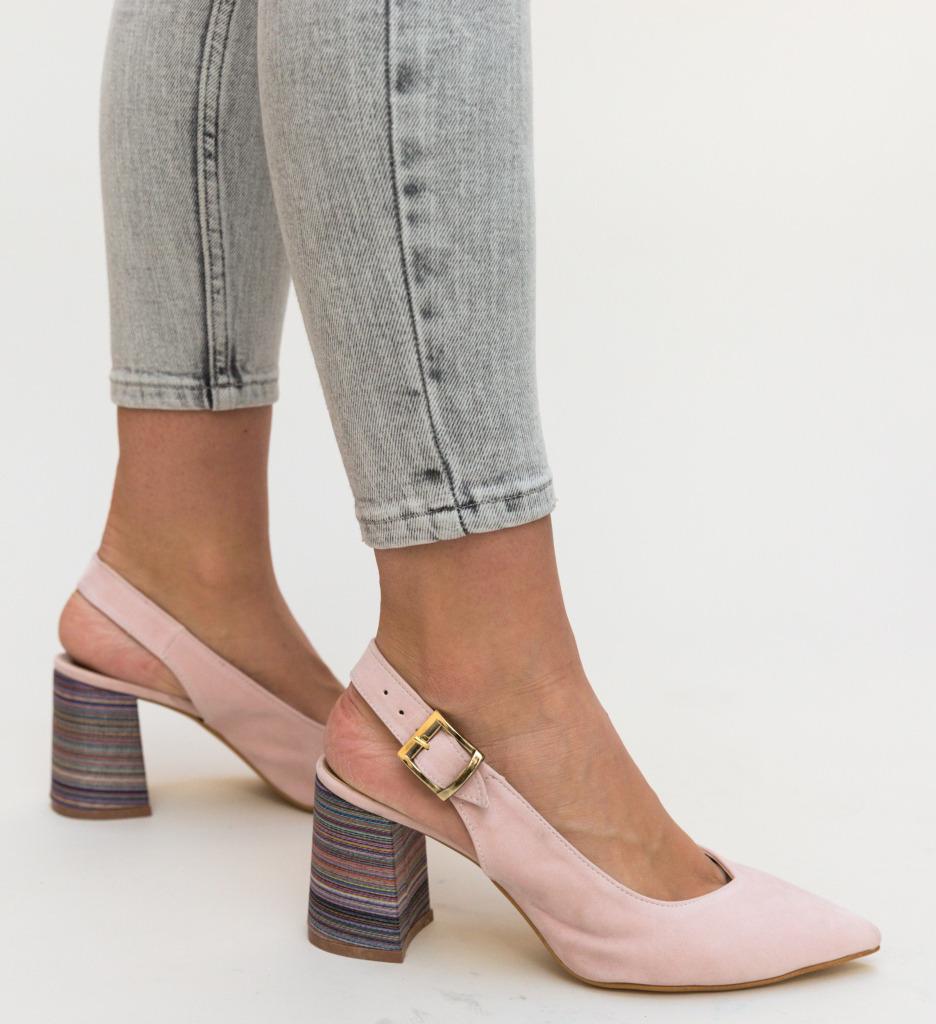 Pantofi Palalama Roz 2 imagine 2021