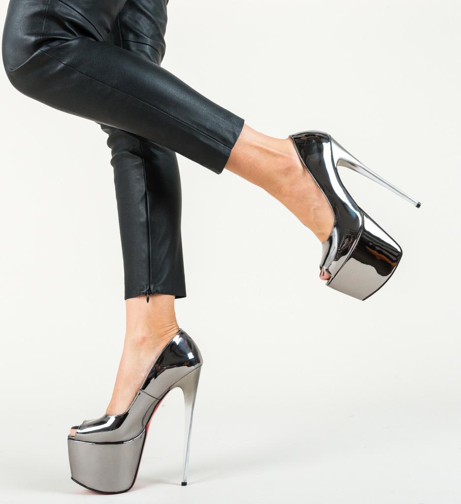 pantofi platforma club
