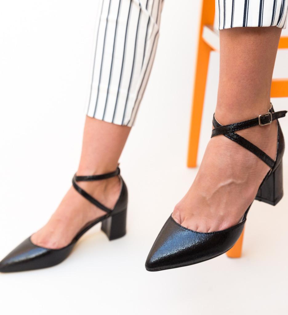 Pantofi Rello Negri