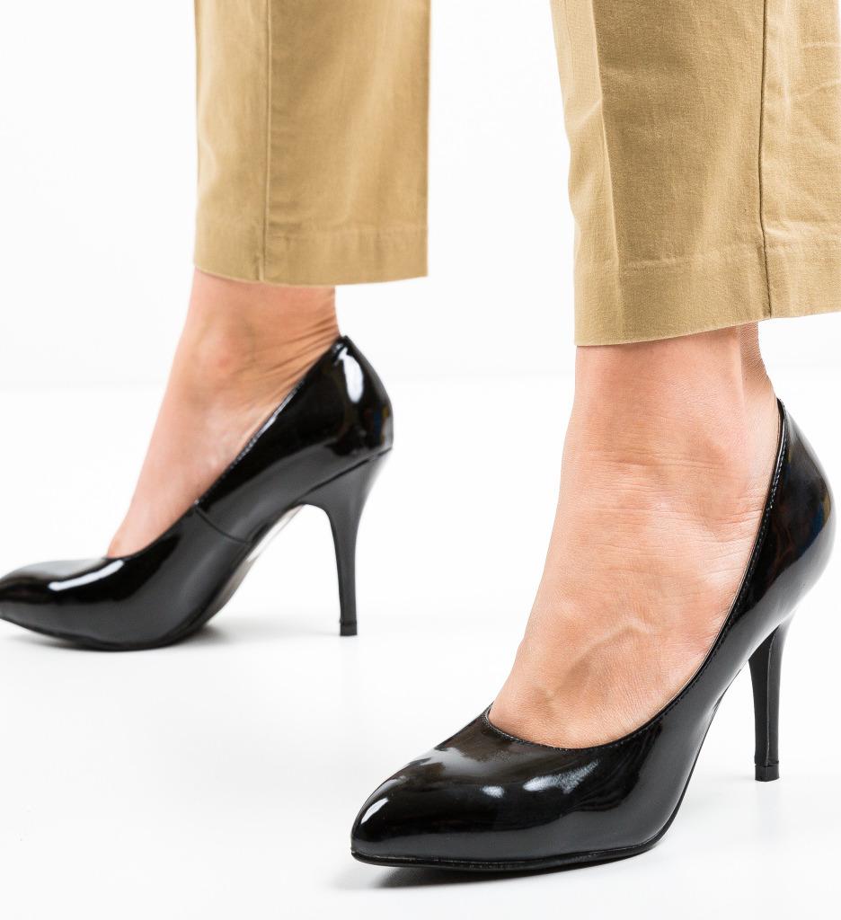 Pantofi Rura Negri
