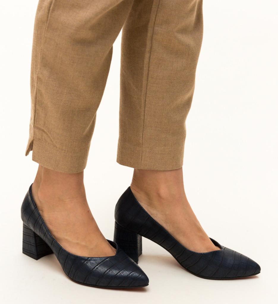 Pantofi Sanso Bleumarin
