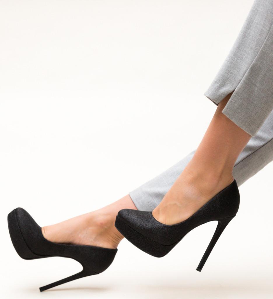 Pantofi Simia Negre 2