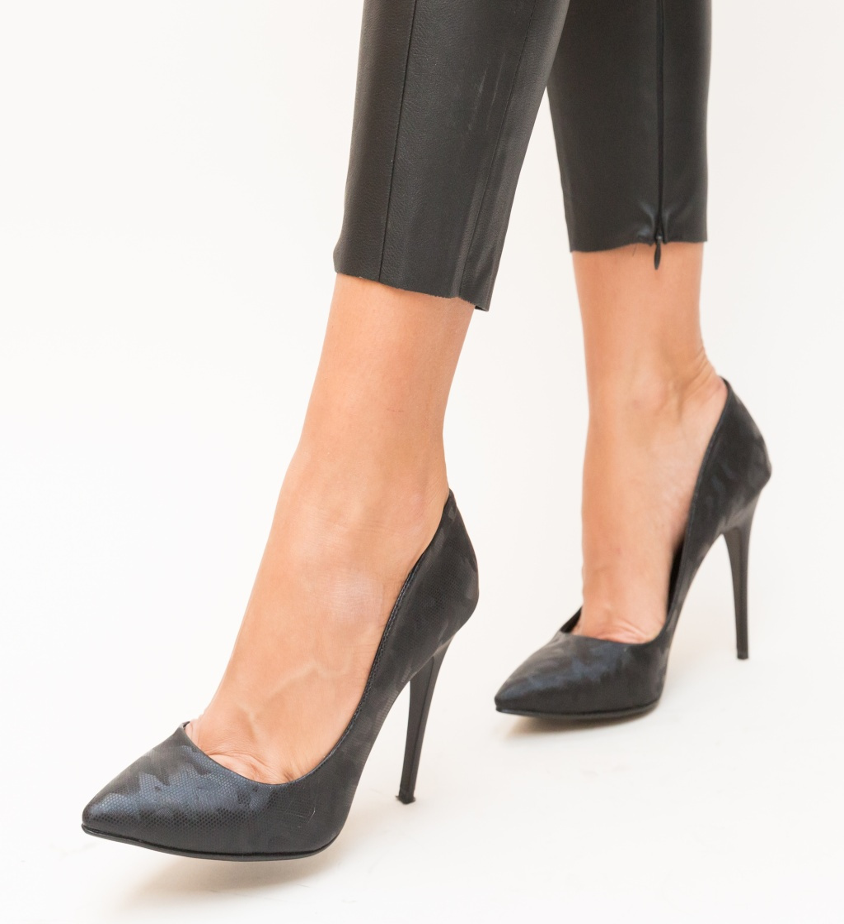 Pantofi Sovie Negri