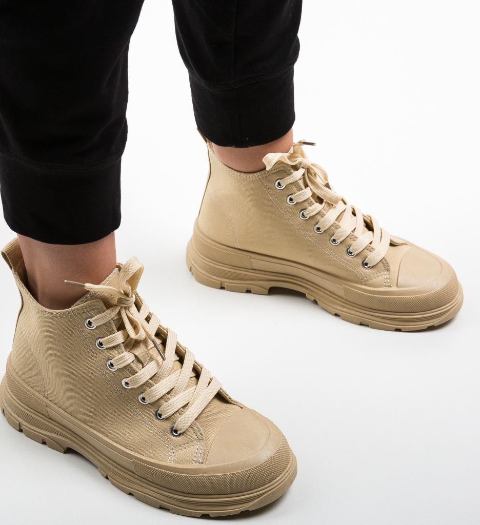 Pantofi Sport Braun Bej