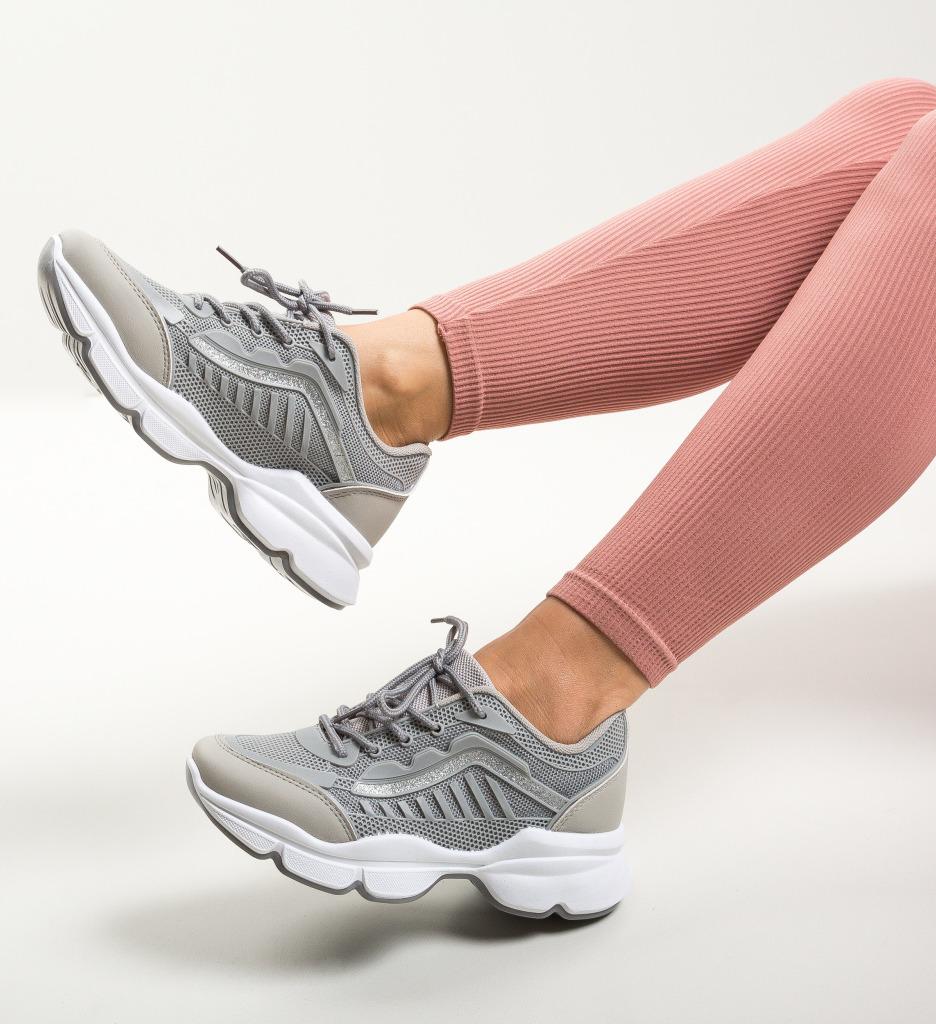 Pantofi Sport Corr Gri
