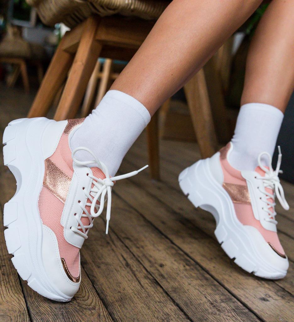 Pantofi Sport Gamey Roz