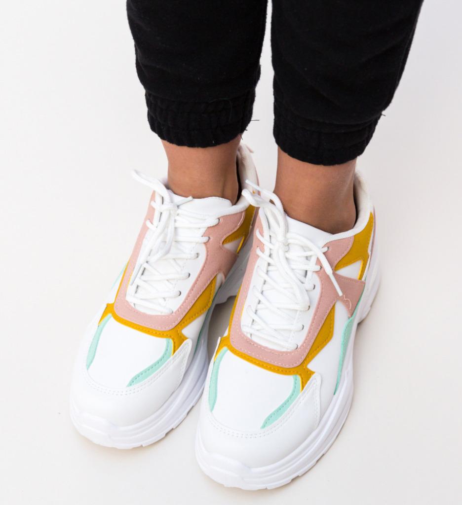 Pantofi Sport Gang Roz