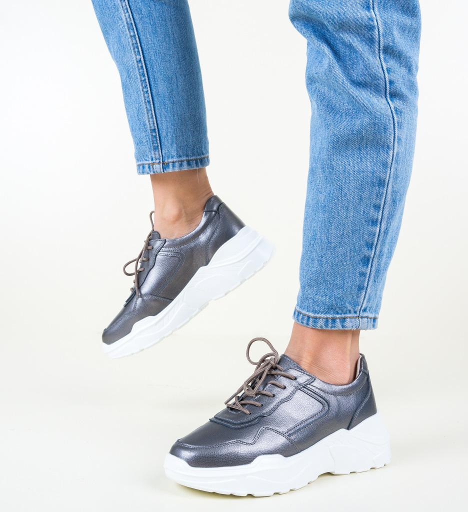 Pantofi Sport Hakim Gri
