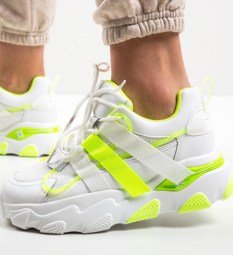 Pantofi Sport Luna Verzi