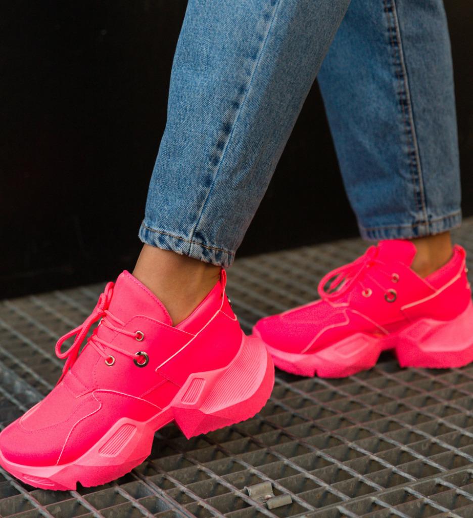 Pantofi Sport Mebas Roz