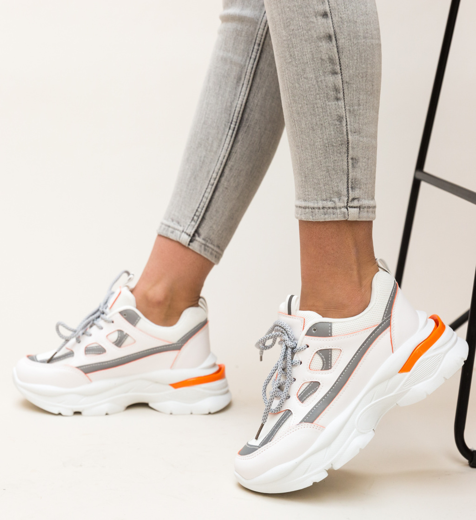 Pantofi Sport Nishtula Portocalii