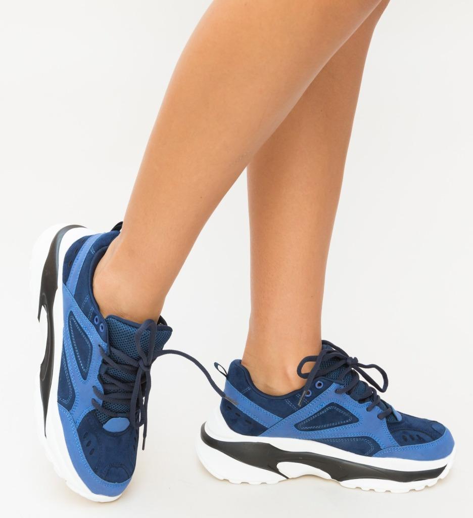 Pantofi Sport Sona Albastri