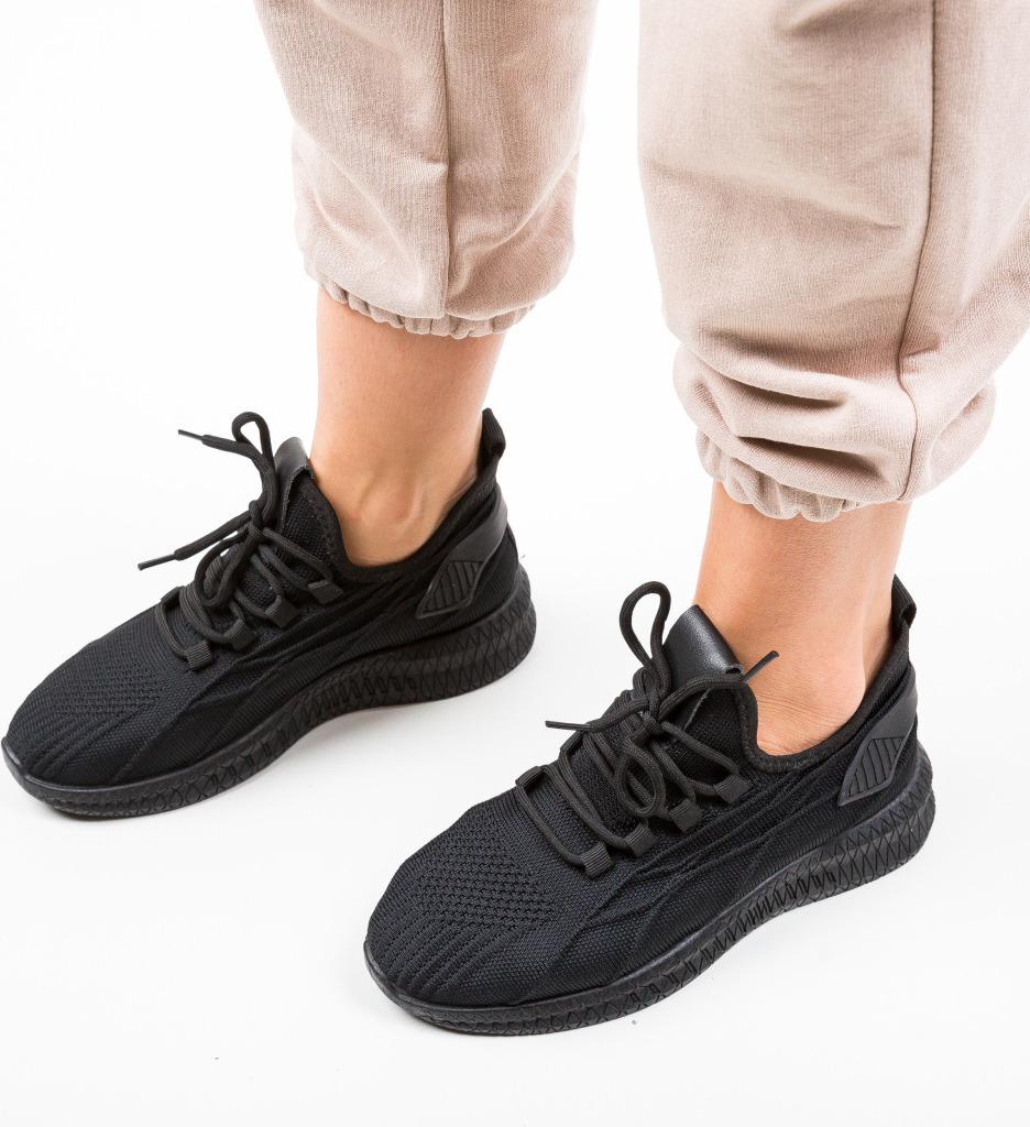 Pantofi Sport Traino Negri