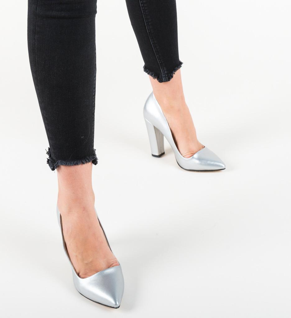 Pantofi Sunshine Argintii