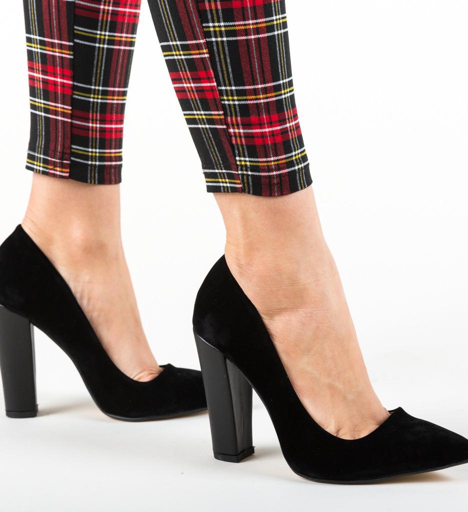 Pantofi Sunshine Negri 5
