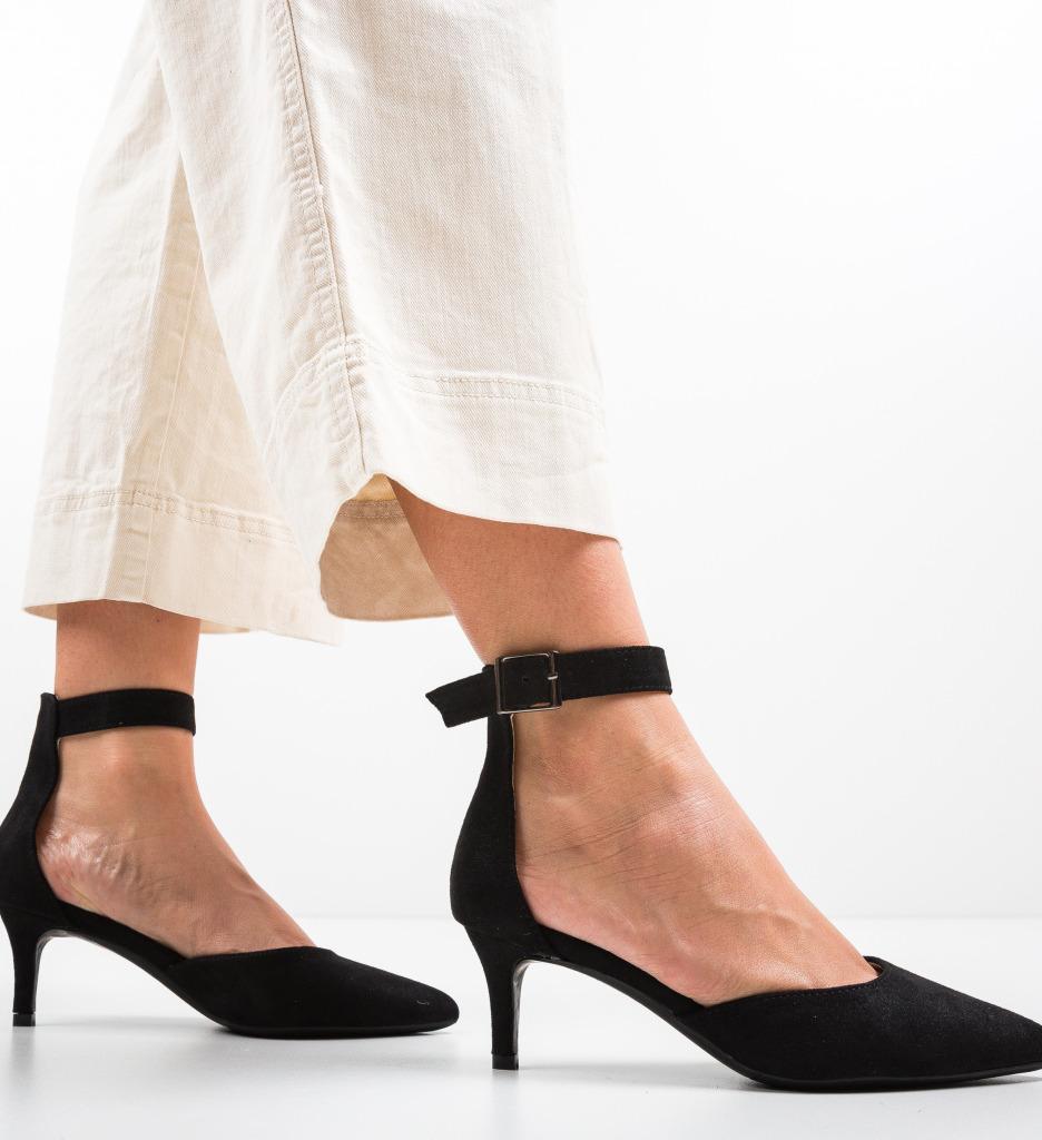 Pantofi Vill Negri