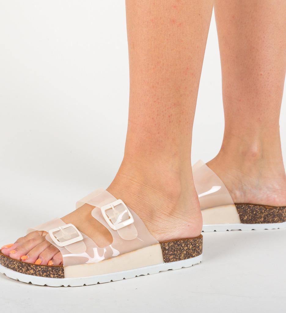 Papuci Niadora Bej