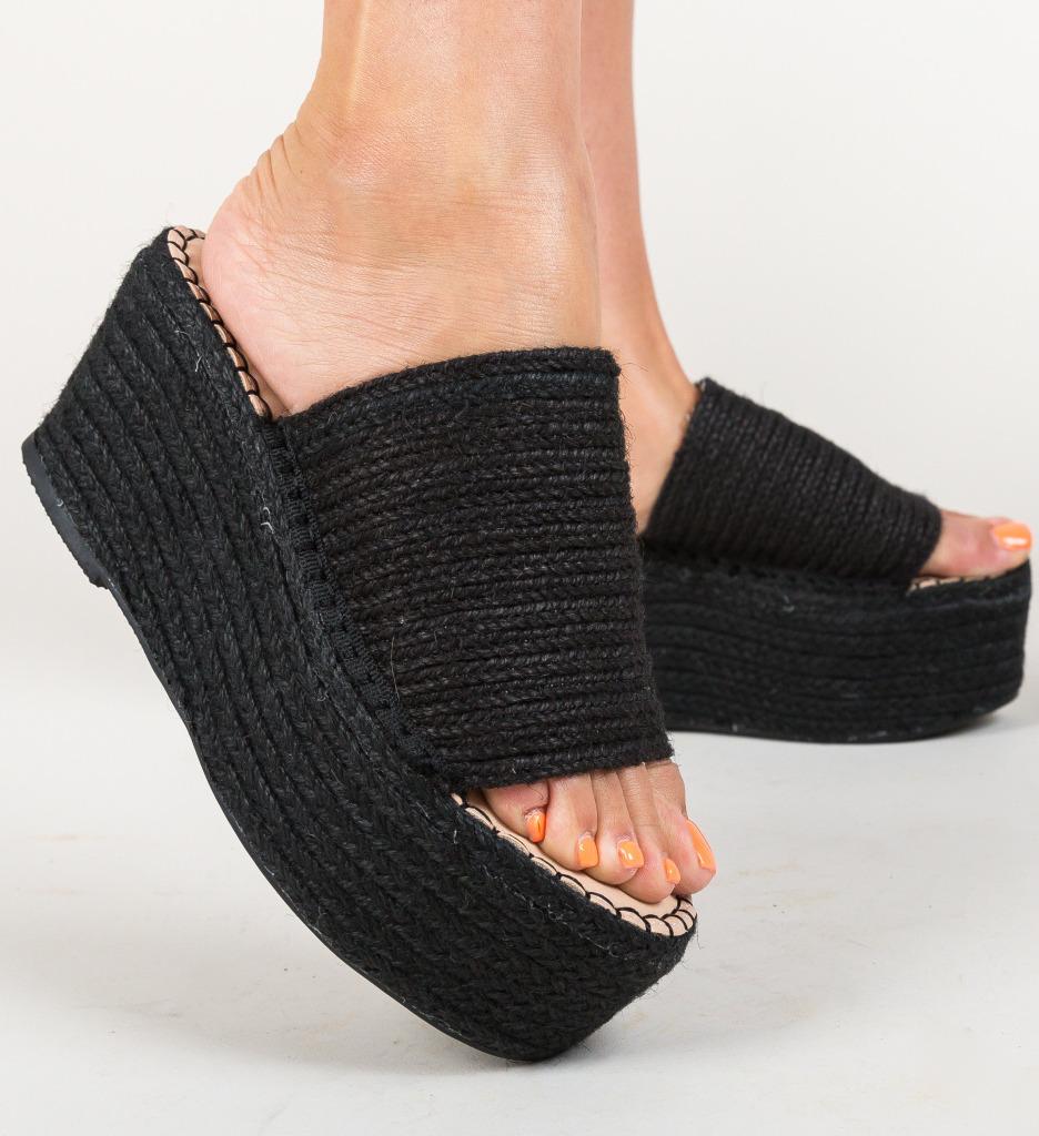 Papuci Ollie Negri