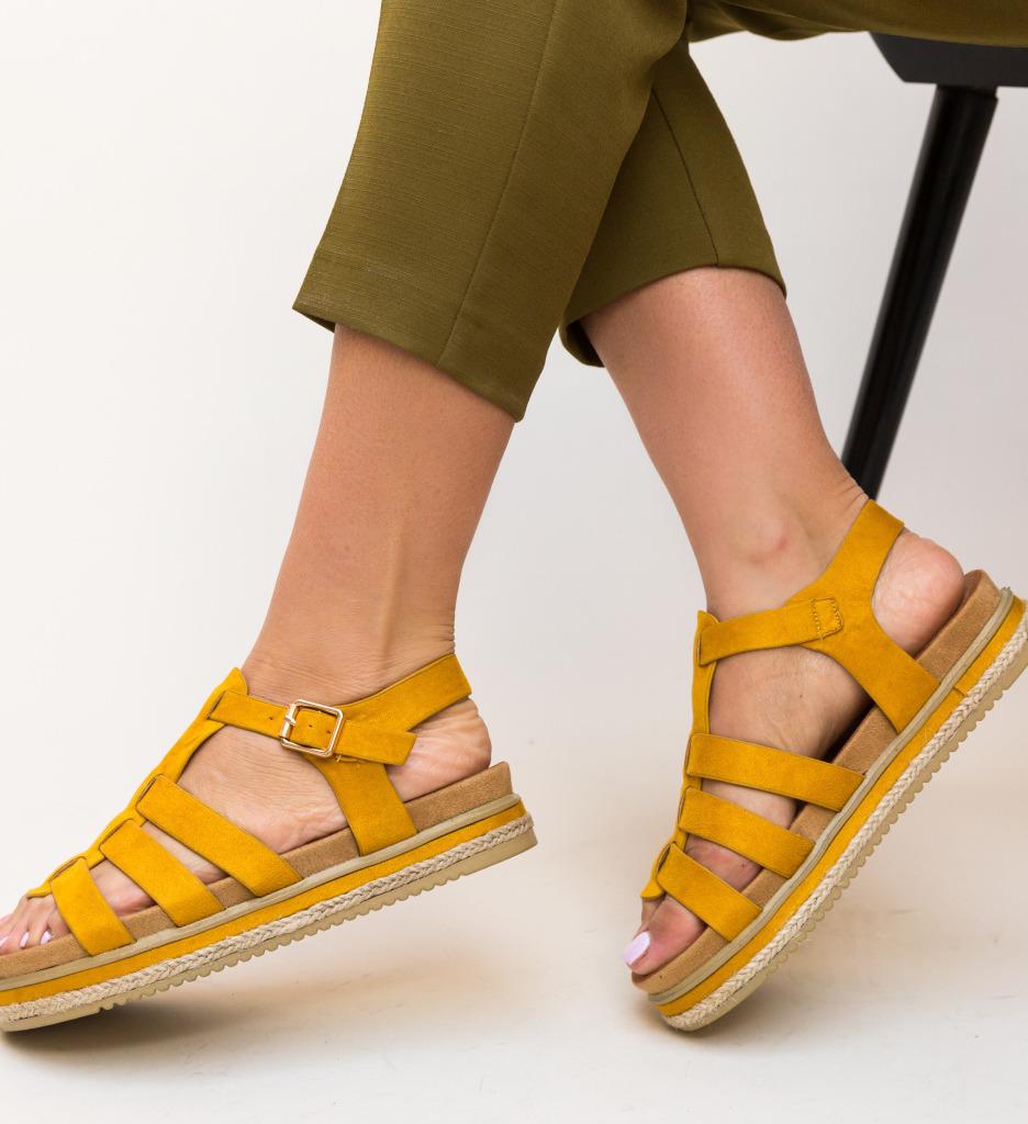 Sandale Belto Galbene