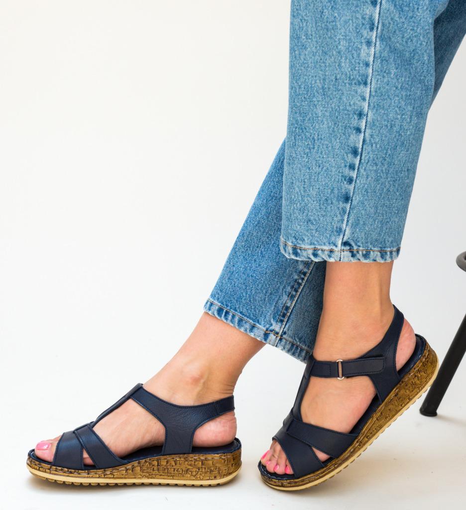 Sandale Ciocos Bleumarin
