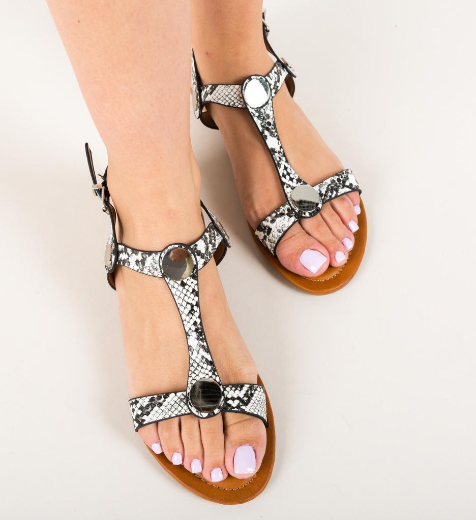 Sandale Egila Albe
