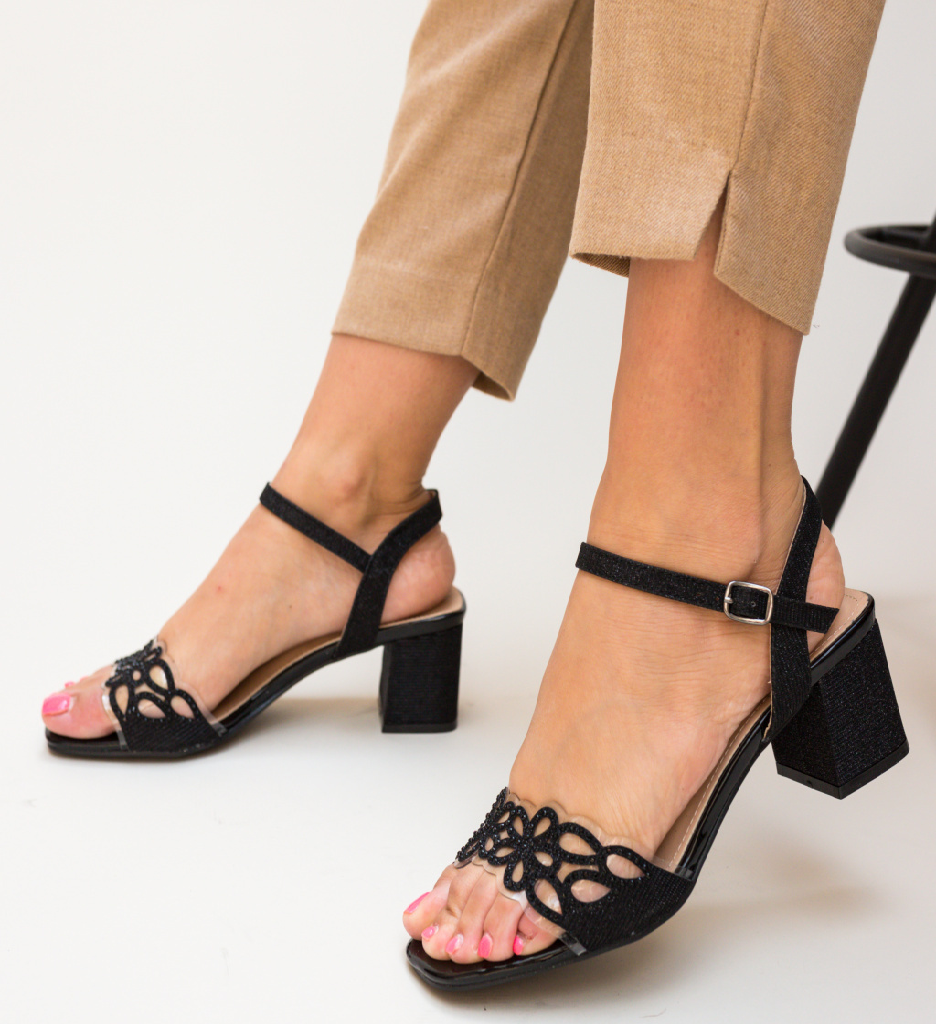 Sandale Esme Negre