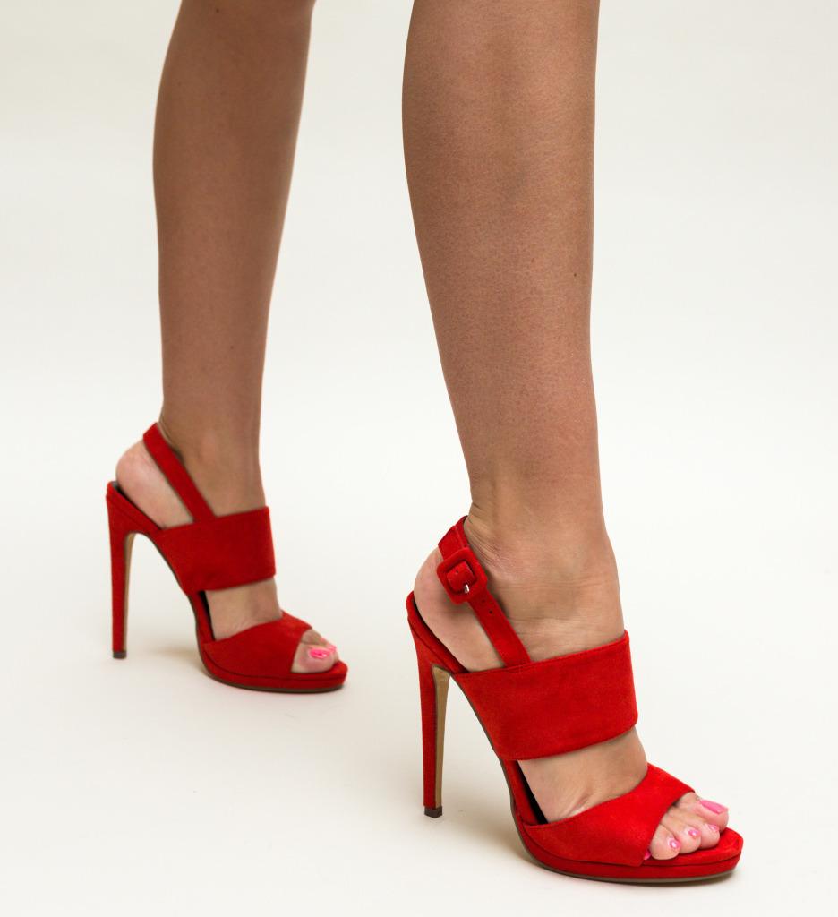 Sandale Floyd Rosii