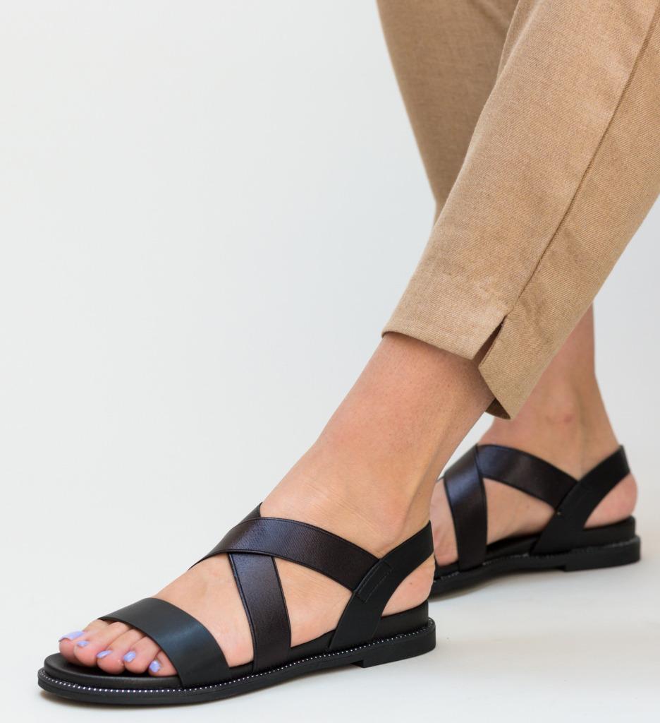 Sandale Frucu Negre