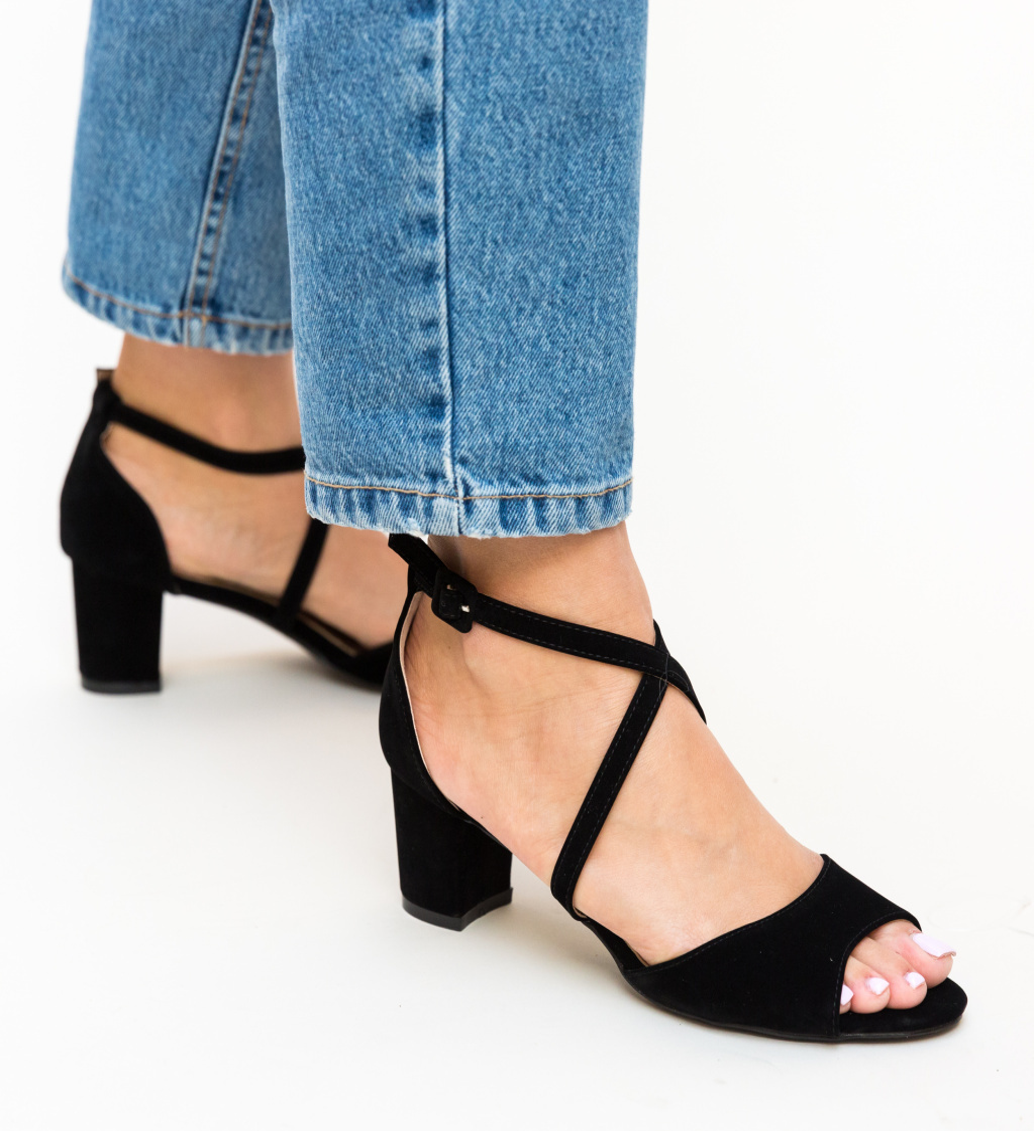 Sandale Mandy Negre
