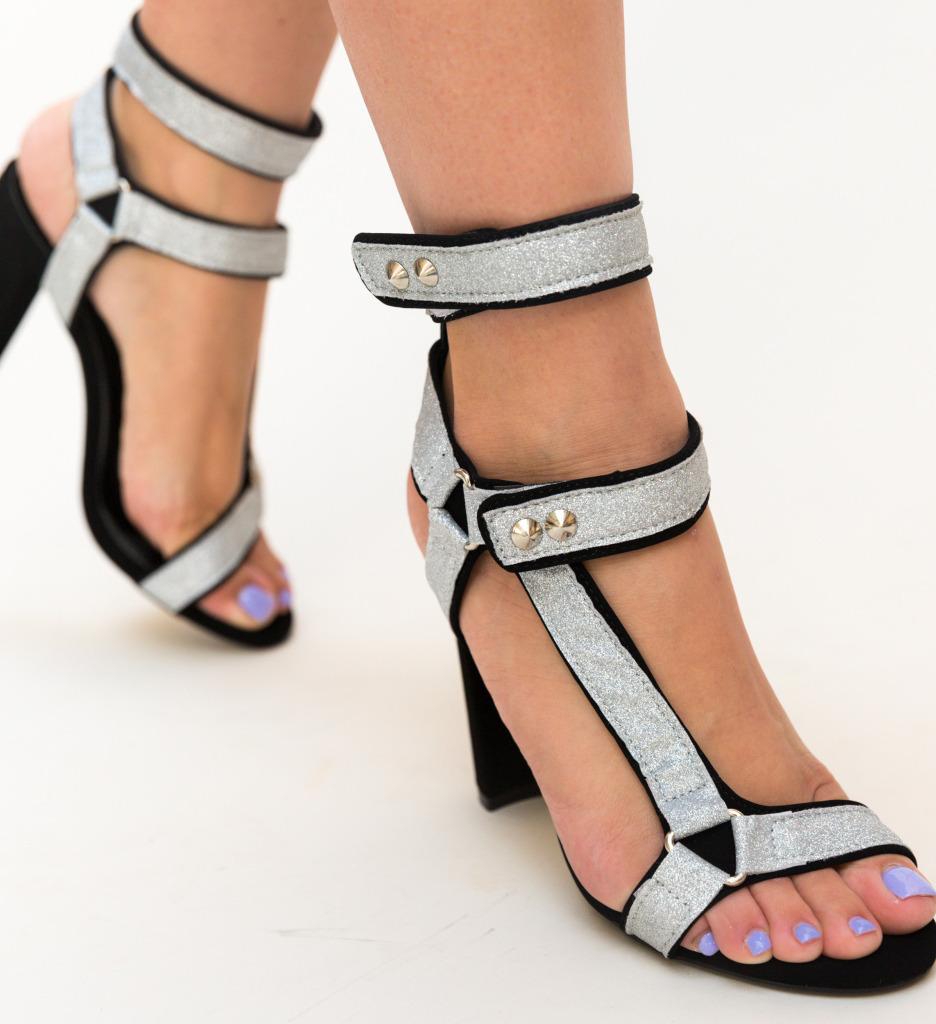 Sandale Nairobi Argintii